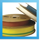 Different colours and sizes heat shrink available